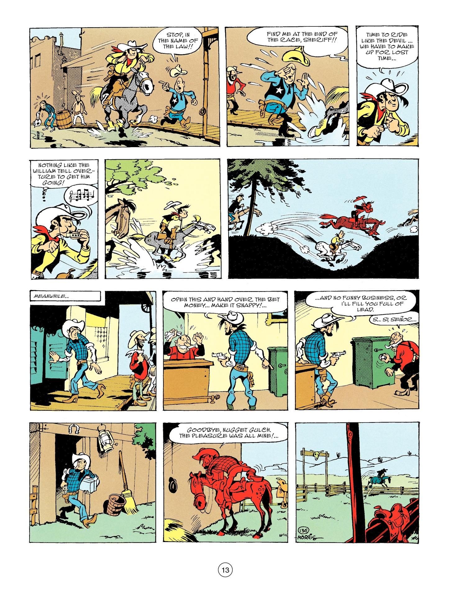Read online A Lucky Luke Adventure comic -  Issue #56 - 13