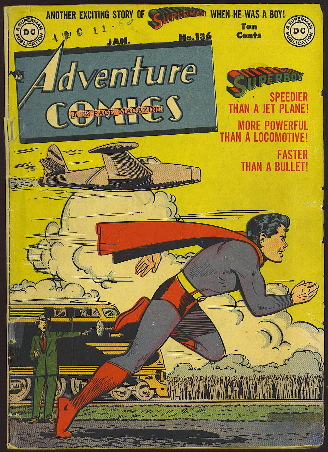 Read online Adventure Comics (1938) comic -  Issue #136 - 1