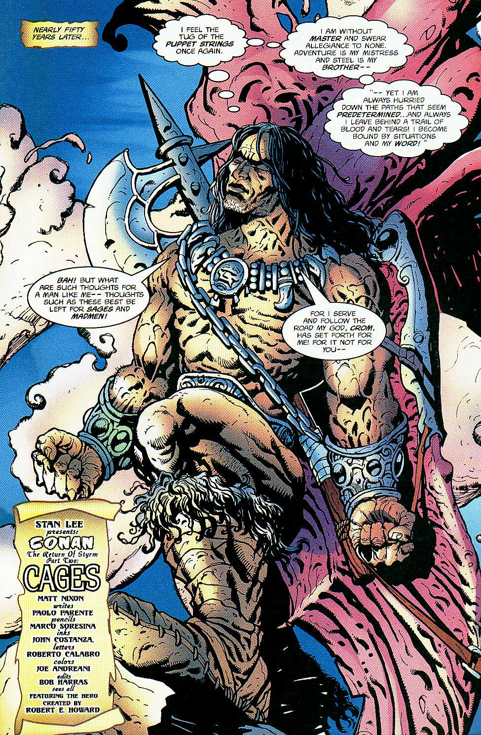Read online Conan: Return of Styrm comic -  Issue #2 - 9