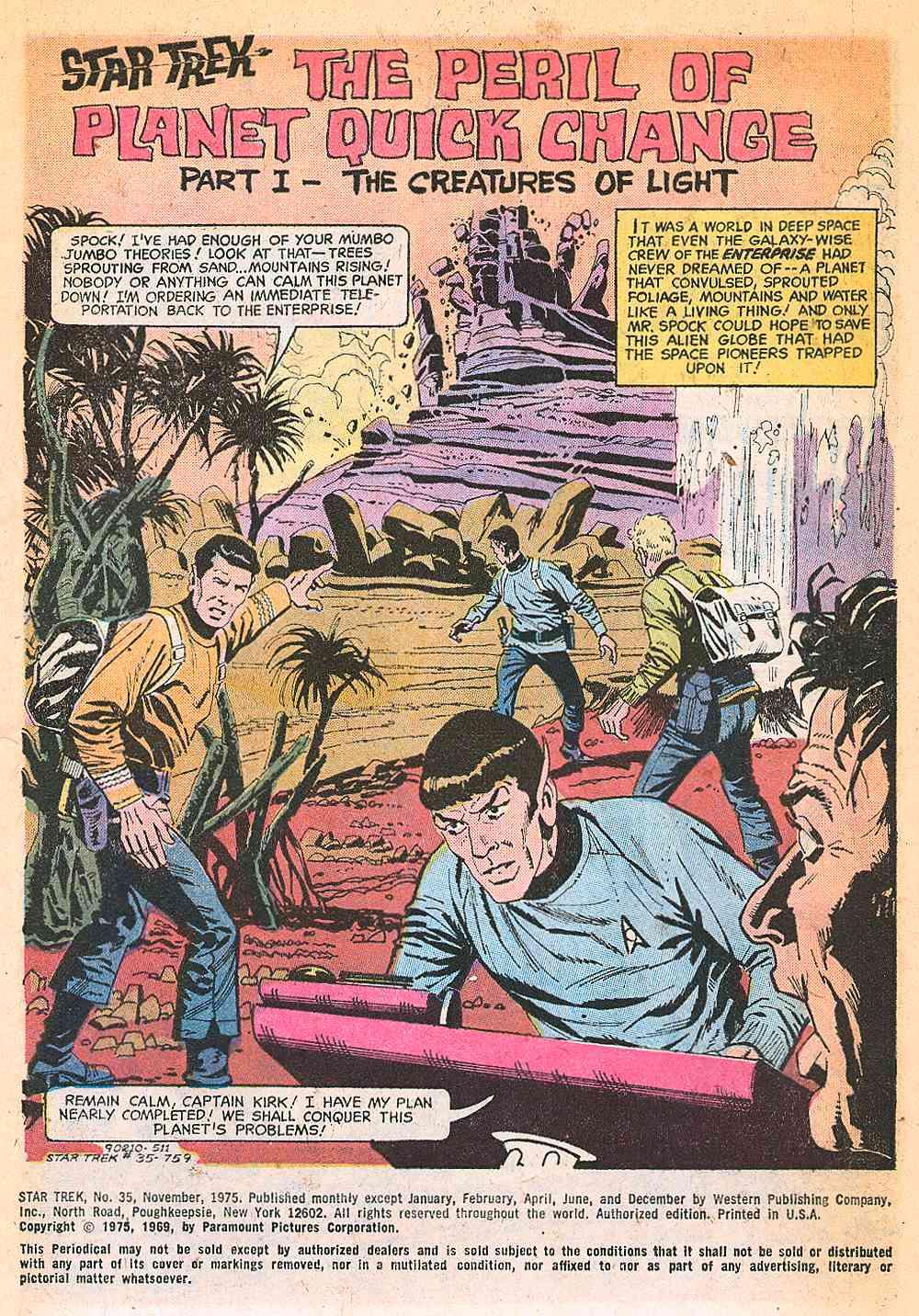 Star Trek (1967) issue 35 - Page 2