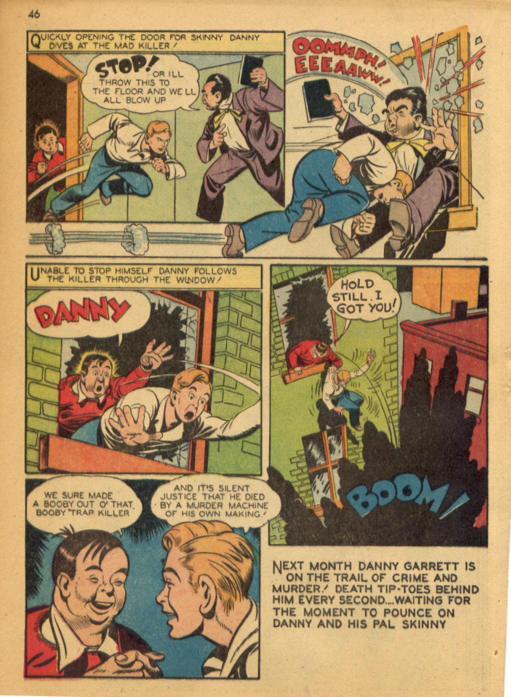 Read online Shadow Comics comic -  Issue #32 - 47