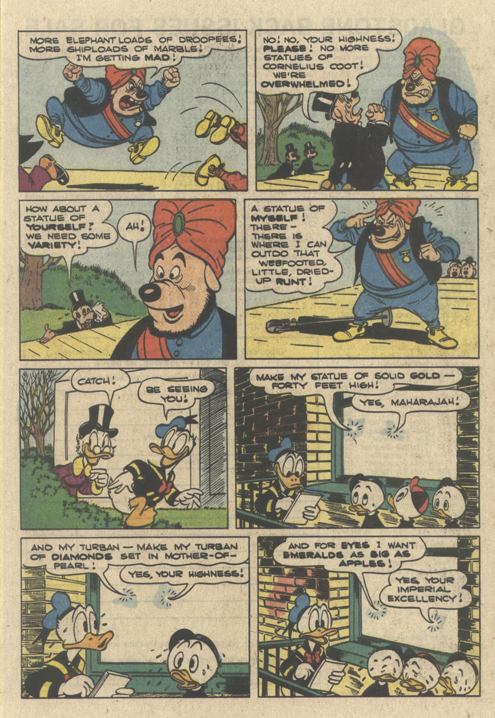 Read online Uncle Scrooge (1953) comic -  Issue #226 - 9