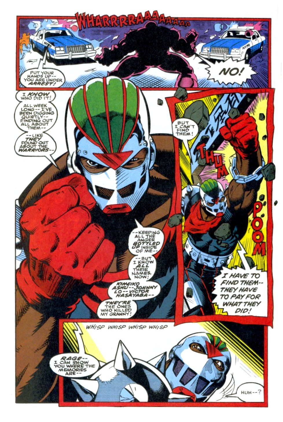 The New Warriors Issue #38 #42 - English 5