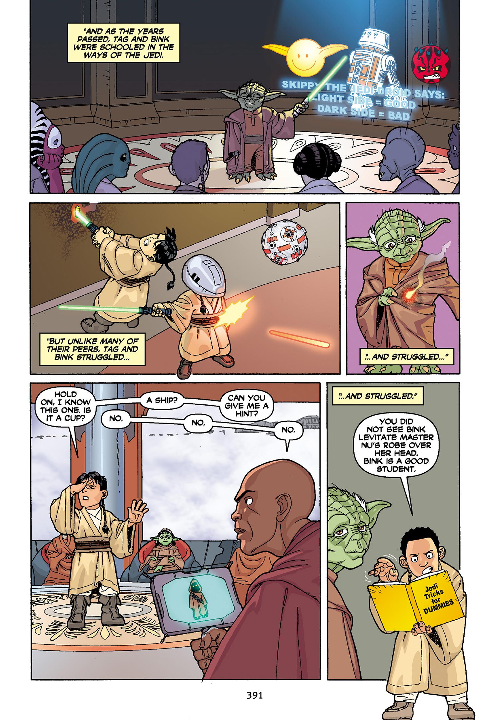Read online Star Wars Omnibus comic -  Issue # Vol. 30 - 382
