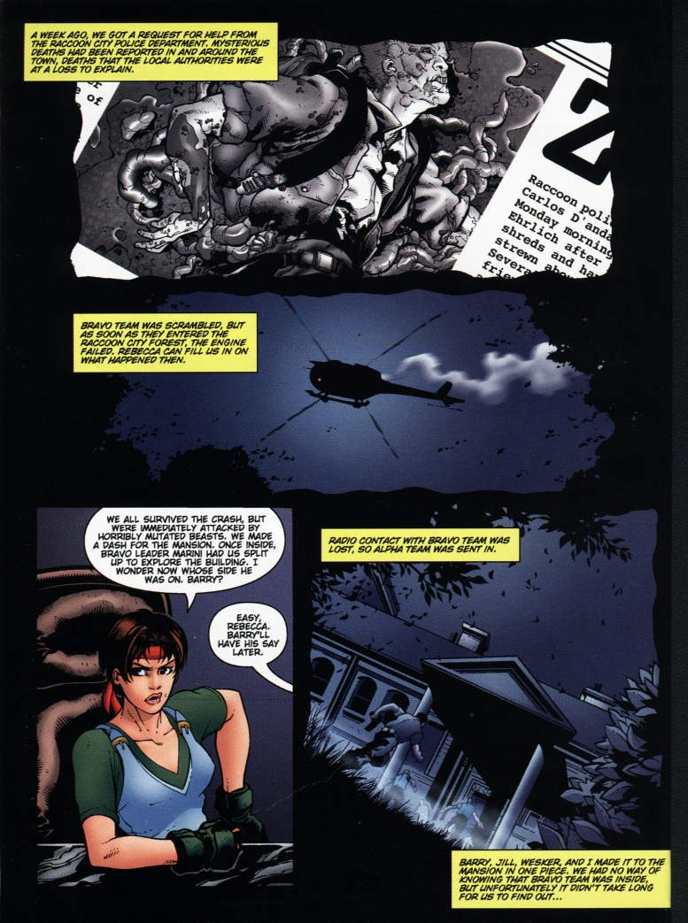 Resident Evil (1998) Issue #1 #1 - English 21
