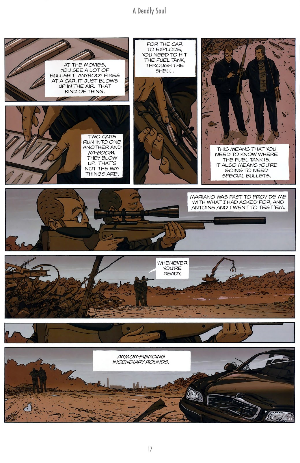 Read online The Killer comic -  Issue #10 - 17