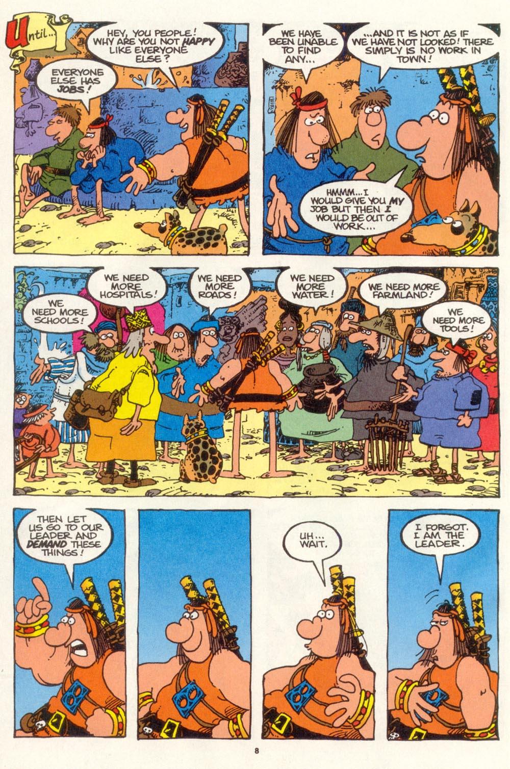 Read online Sergio Aragonés Groo the Wanderer comic -  Issue #109 - 10