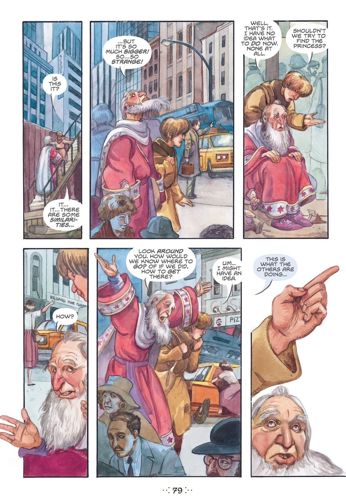 Read online The Wizard's Tale comic -  Issue # TPB - 75