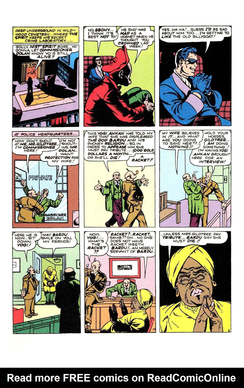 Read online Will Eisner's The Spirit Archives comic -  Issue # TPB 2 (Part 1) - 42