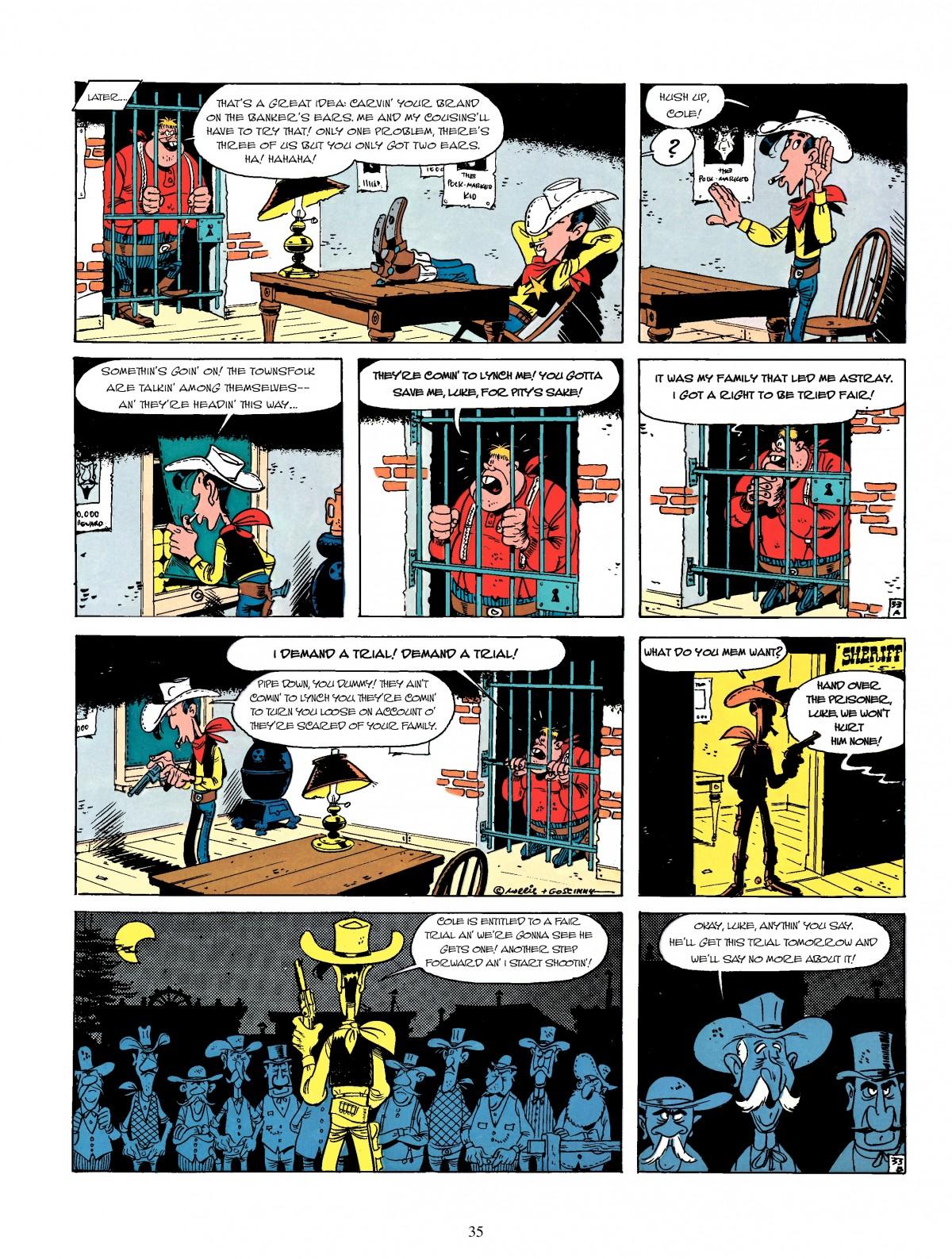 Read online A Lucky Luke Adventure comic -  Issue #4 - 37
