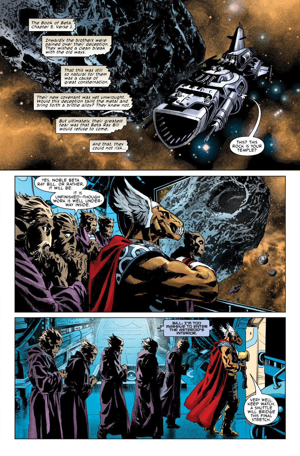 Read online Secret Invasion Aftermath: Beta Ray Bill - The Green of Eden comic -  Issue # Full - 8