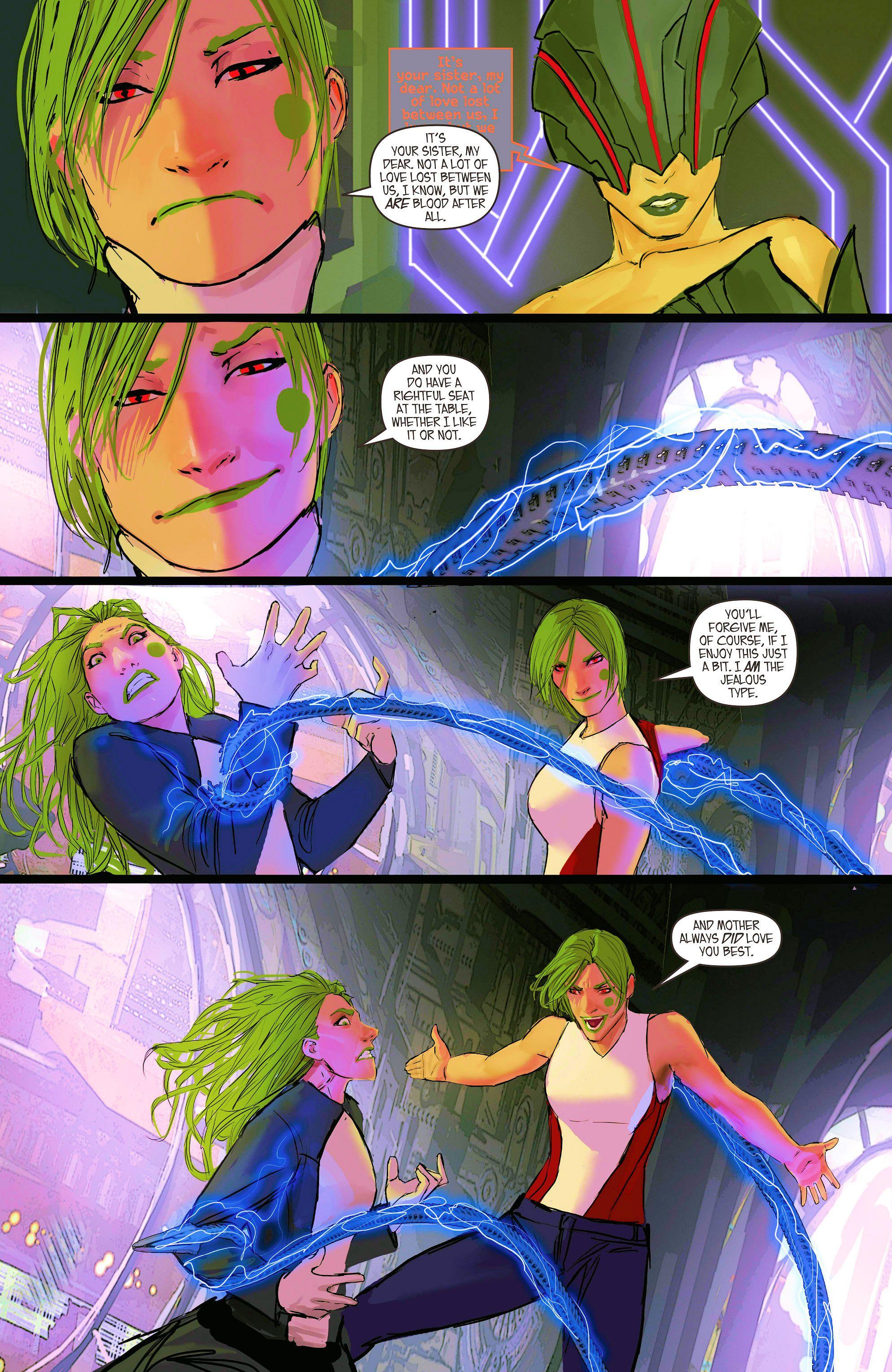 Read online Aphrodite IX (2013) comic -  Issue #9 - 16