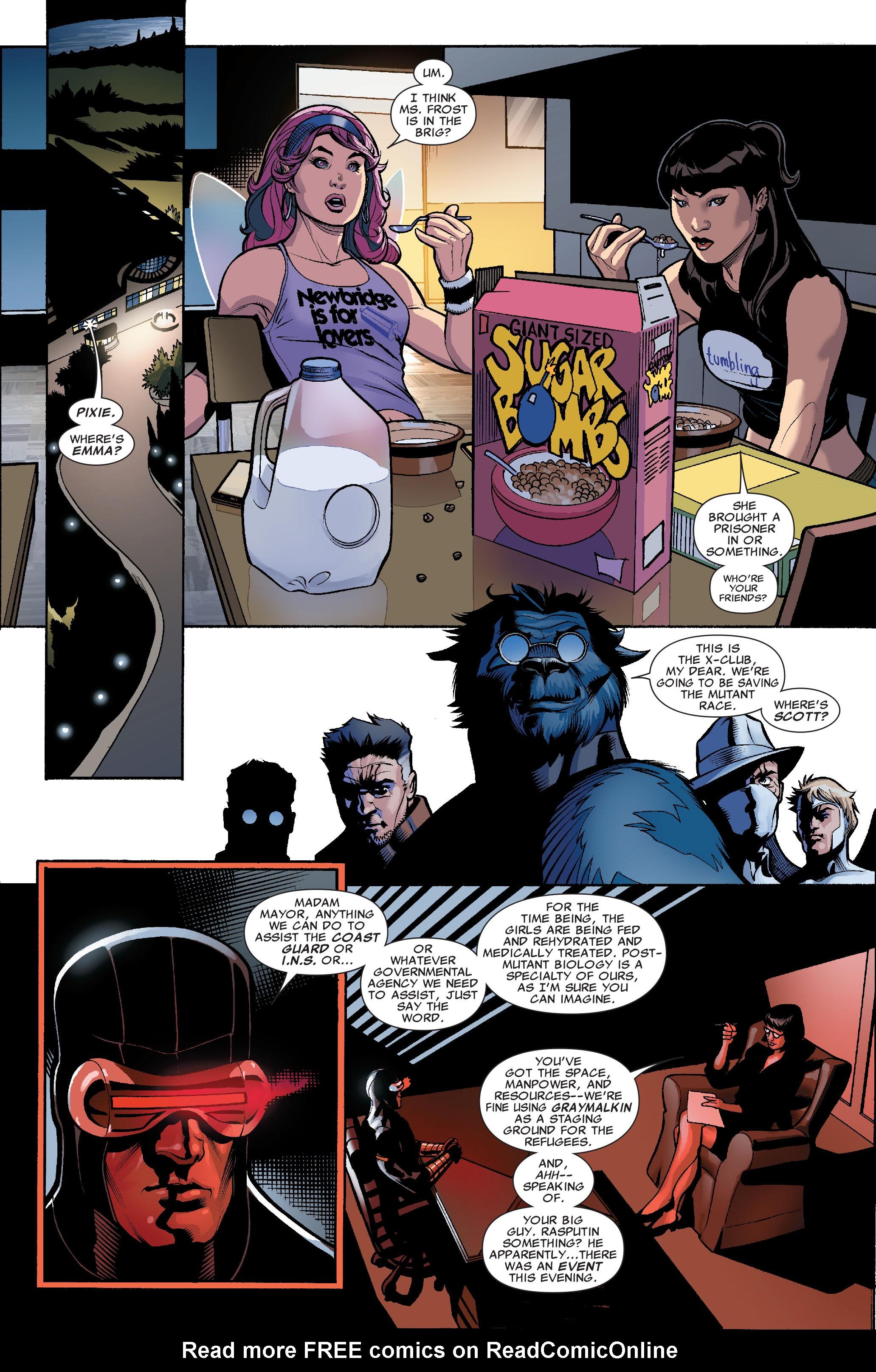 Read online Uncanny X-Men (1963) comic -  Issue #507 - 20