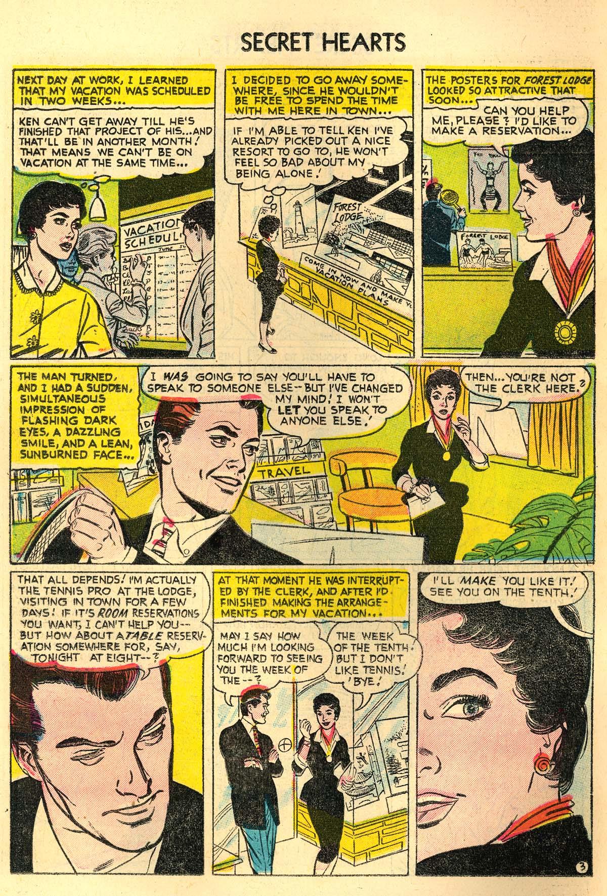 Read online Secret Hearts comic -  Issue #30 - 12
