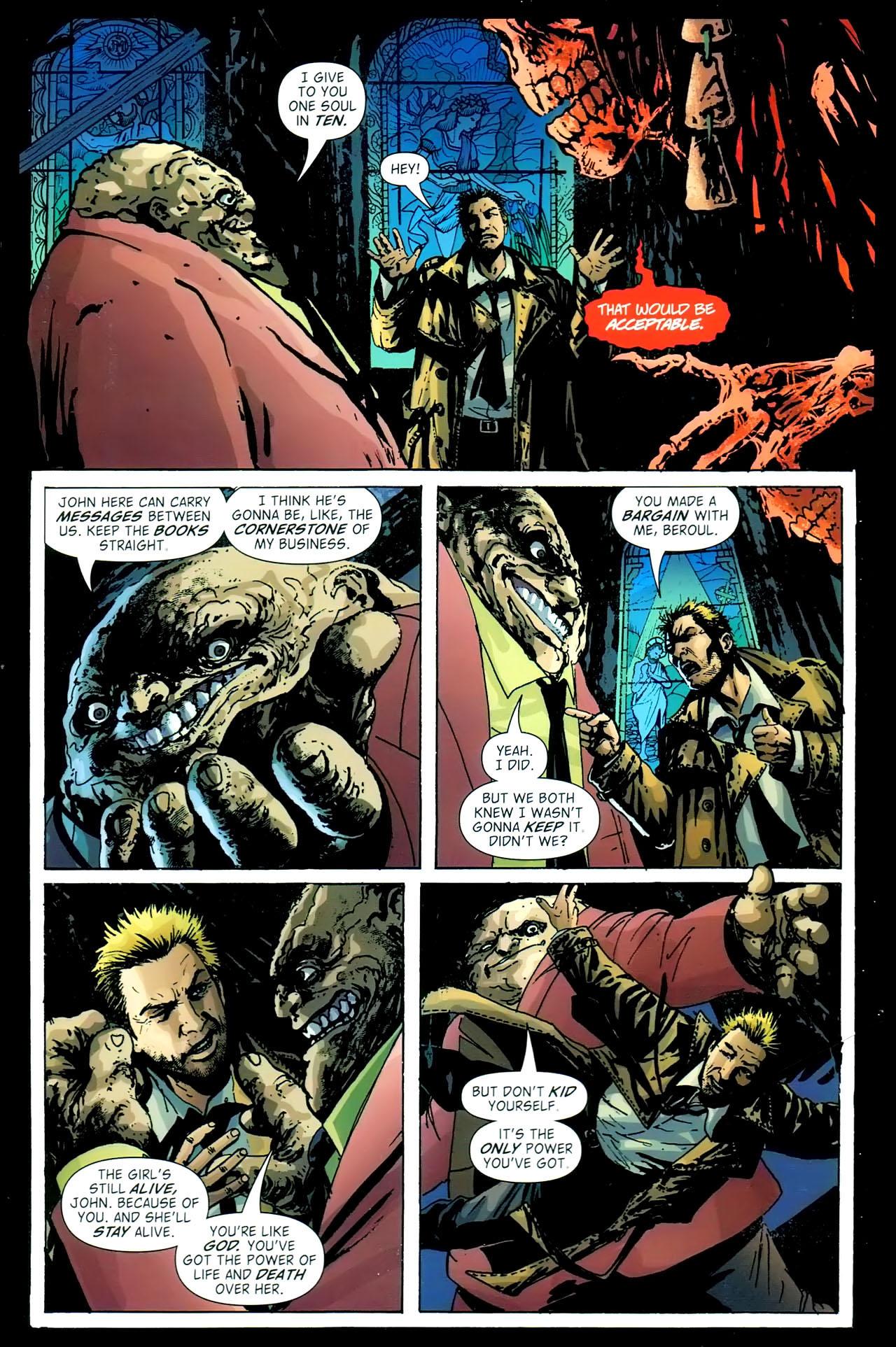 Read online John Constantine Hellblazer: All His Engines comic -  Issue # Full - 86