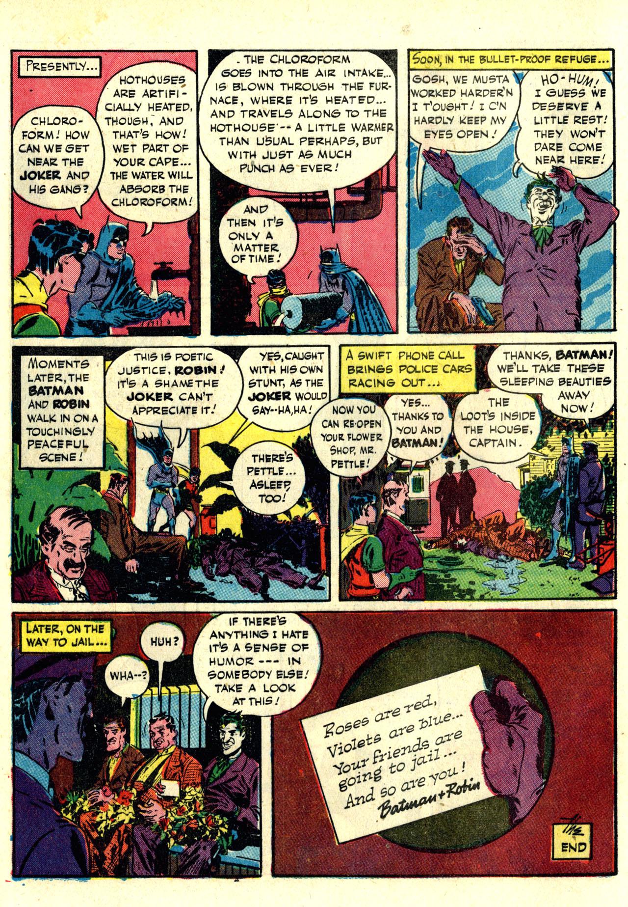 Read online Detective Comics (1937) comic -  Issue #76 - 14