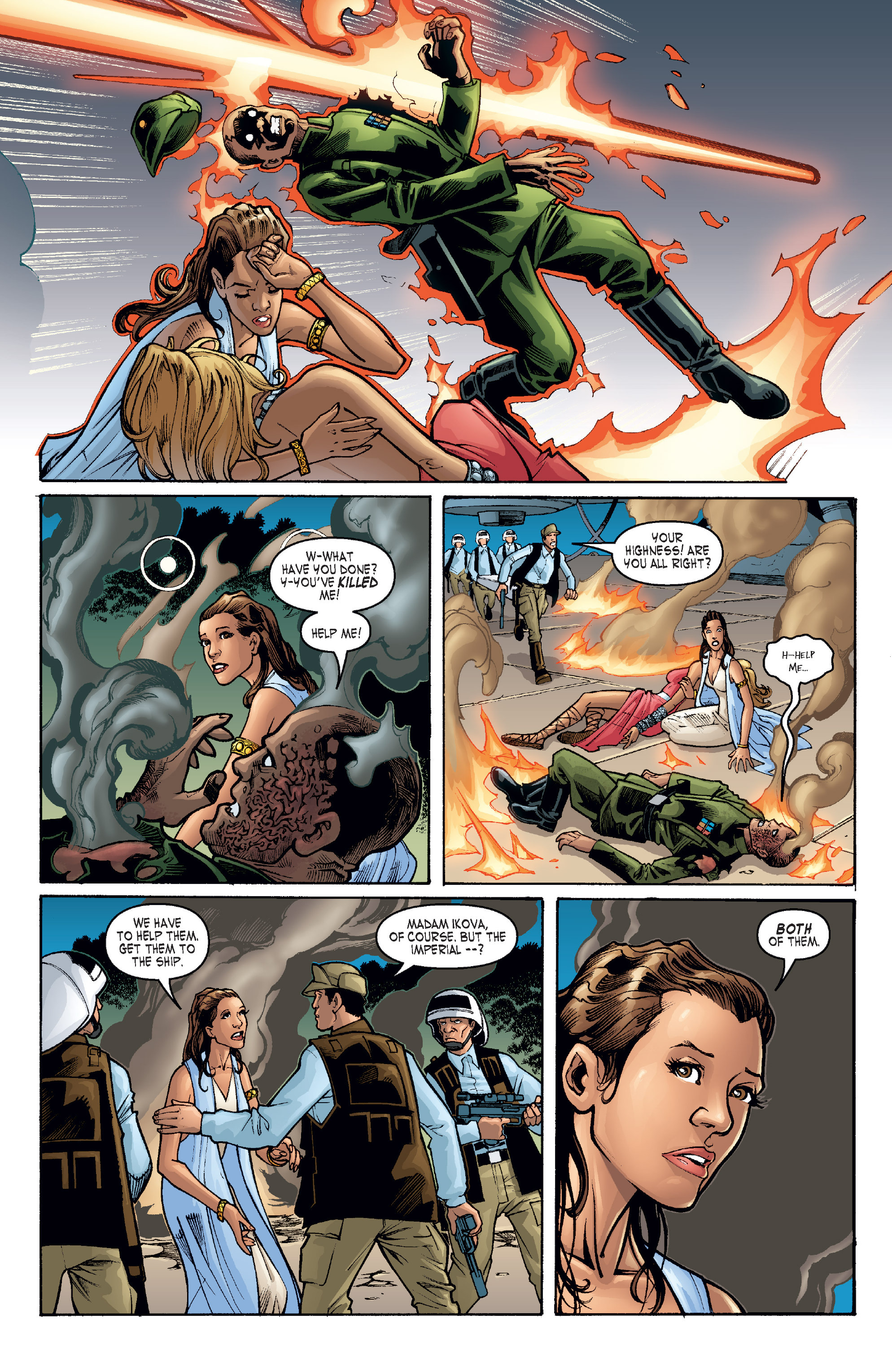 Read online Star Wars Omnibus comic -  Issue # Vol. 17 - 123