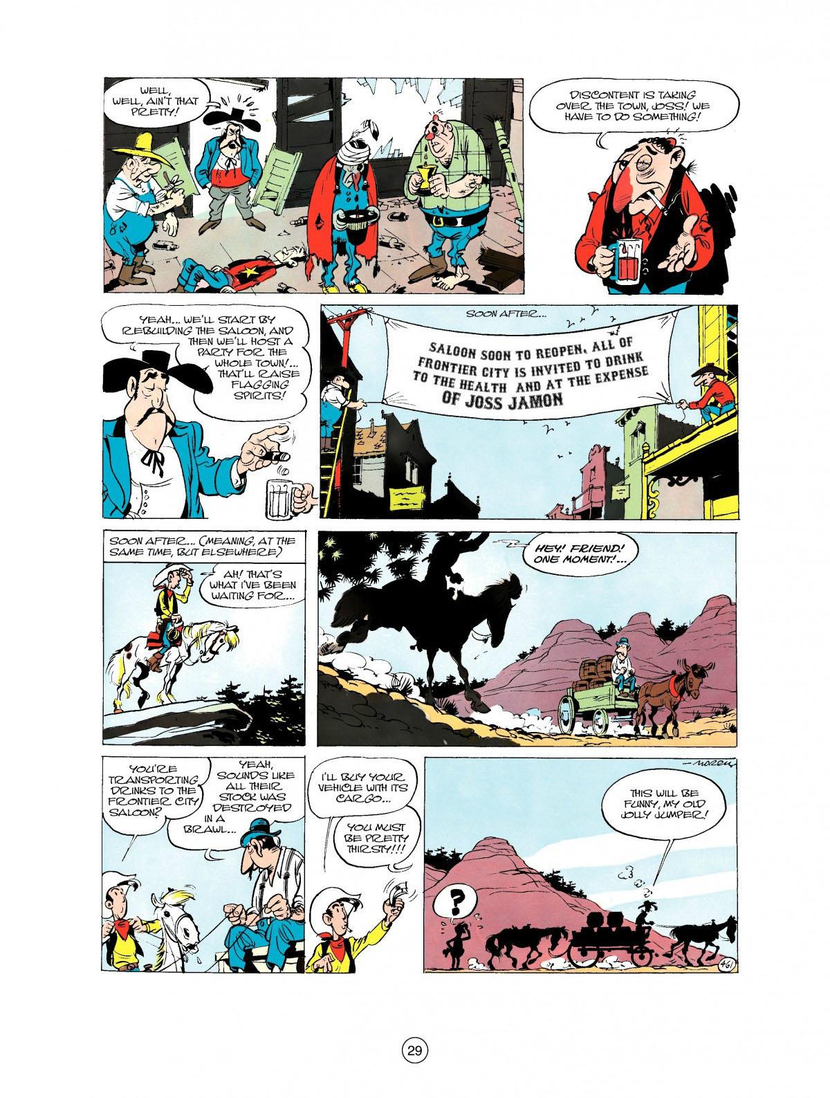 Read online A Lucky Luke Adventure comic -  Issue #27 - 30