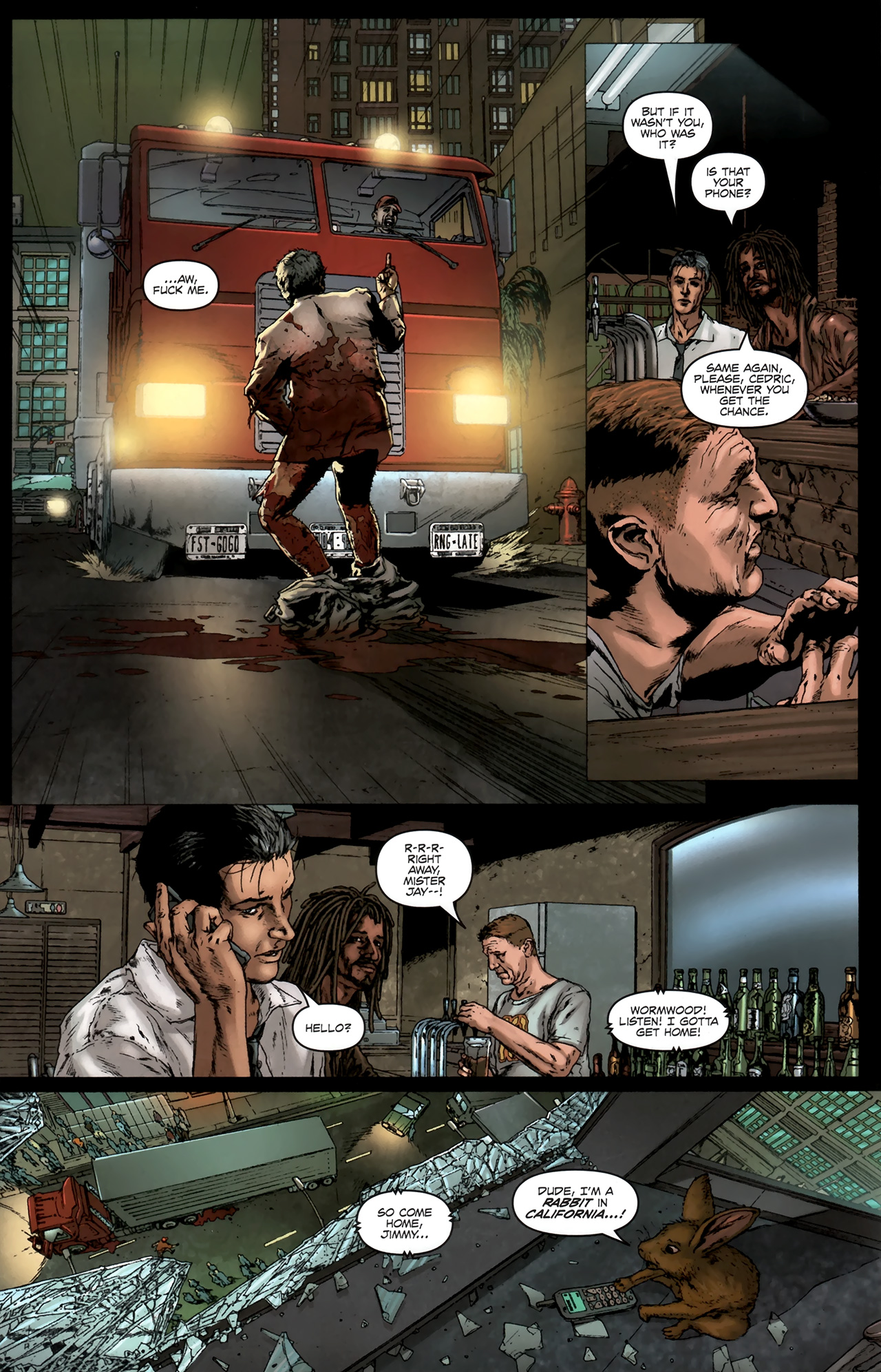 Read online Chronicles of Wormwood: The Last Battle comic -  Issue #6 - 21
