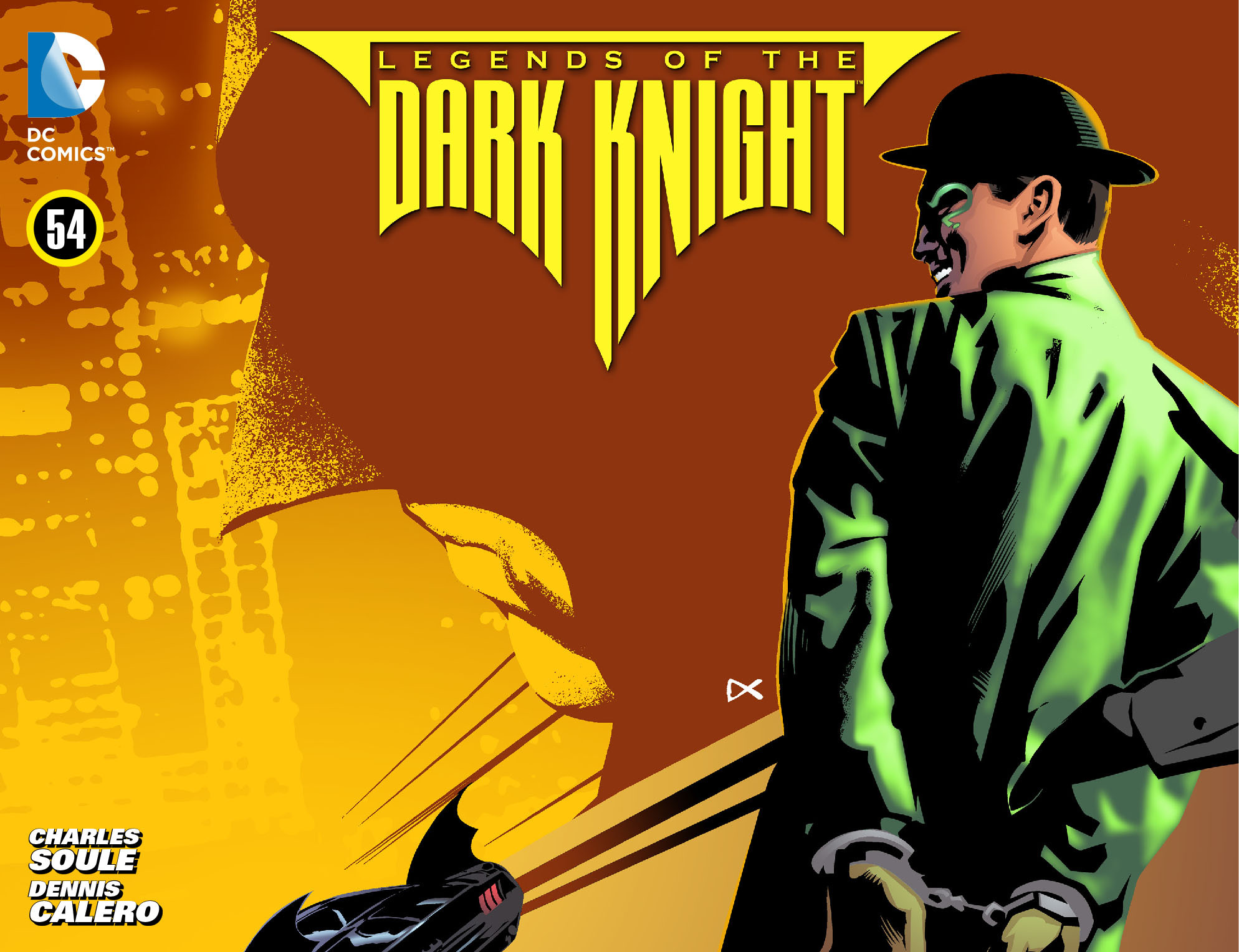 Legends of the Dark Knight [I] issue 54 - Page 1