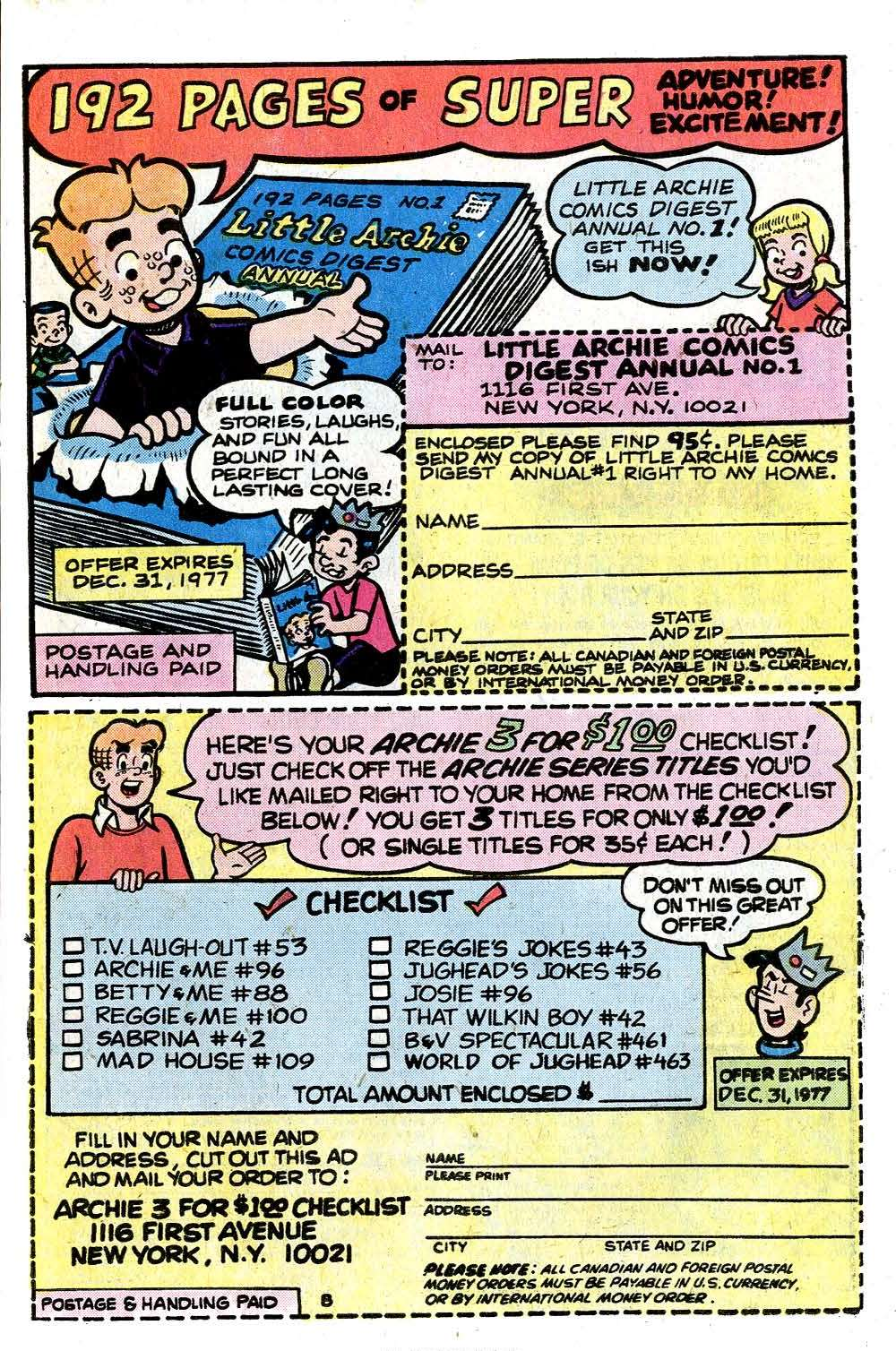 Read online Archie (1960) comic -  Issue #265 - 27