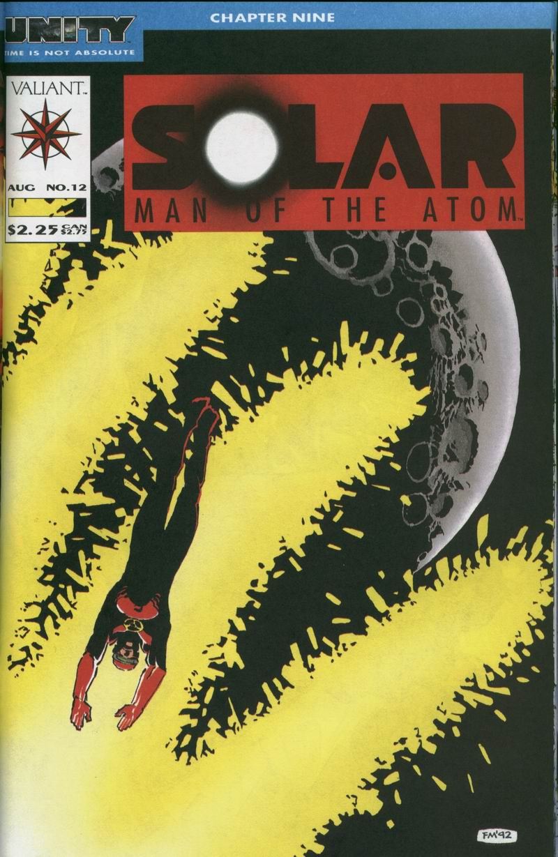 Read online Solar, Man of the Atom comic -  Issue #12 - 1