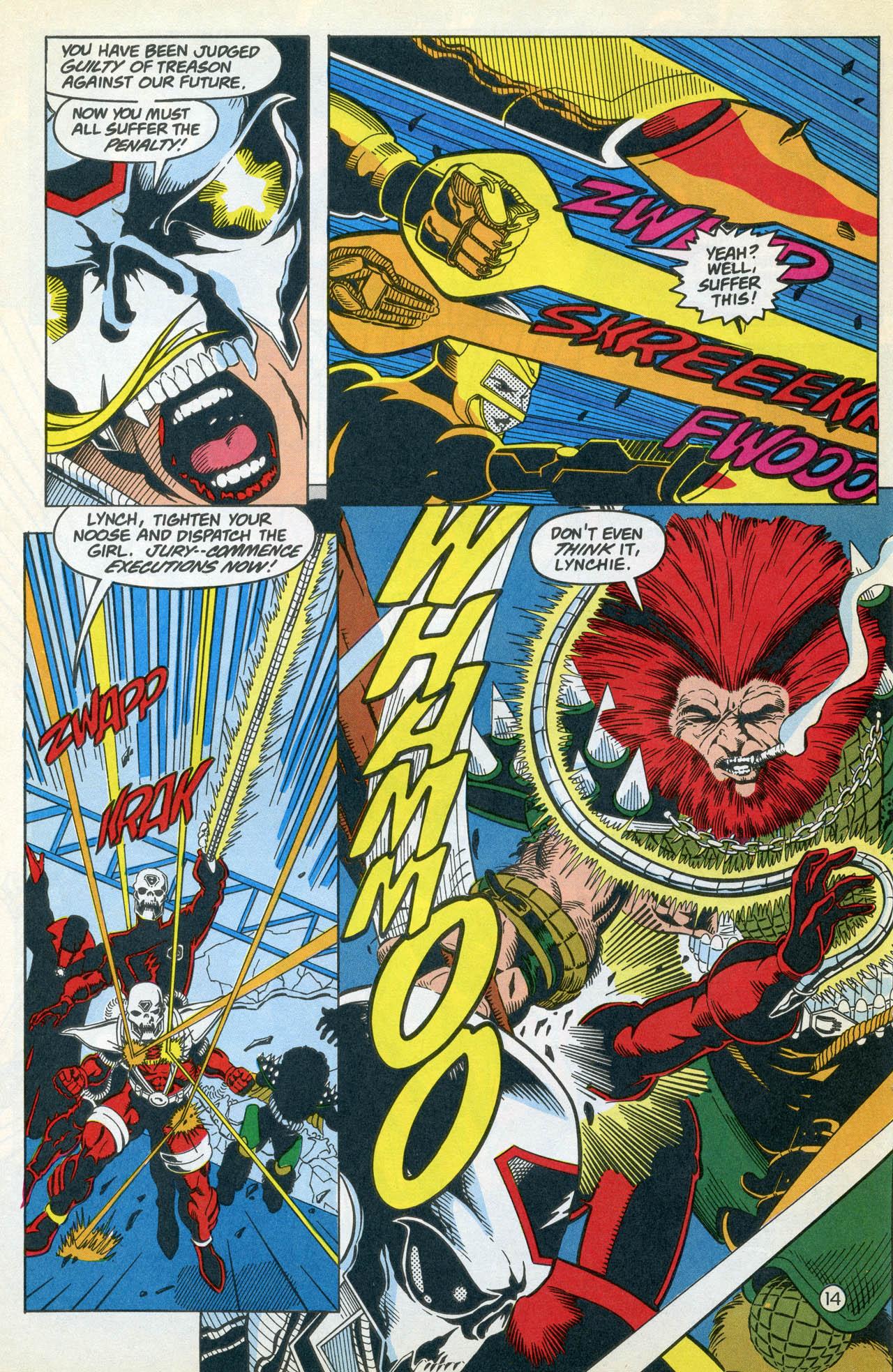 Read online Team Titans comic -  Issue #4 - 18
