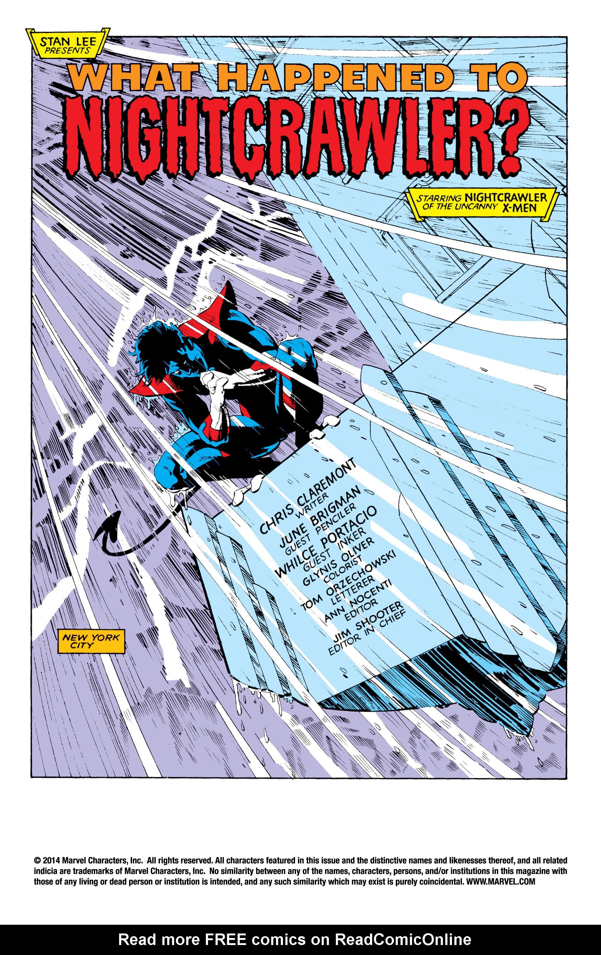 Read online Uncanny X-Men (1963) comic -  Issue #204 - 2