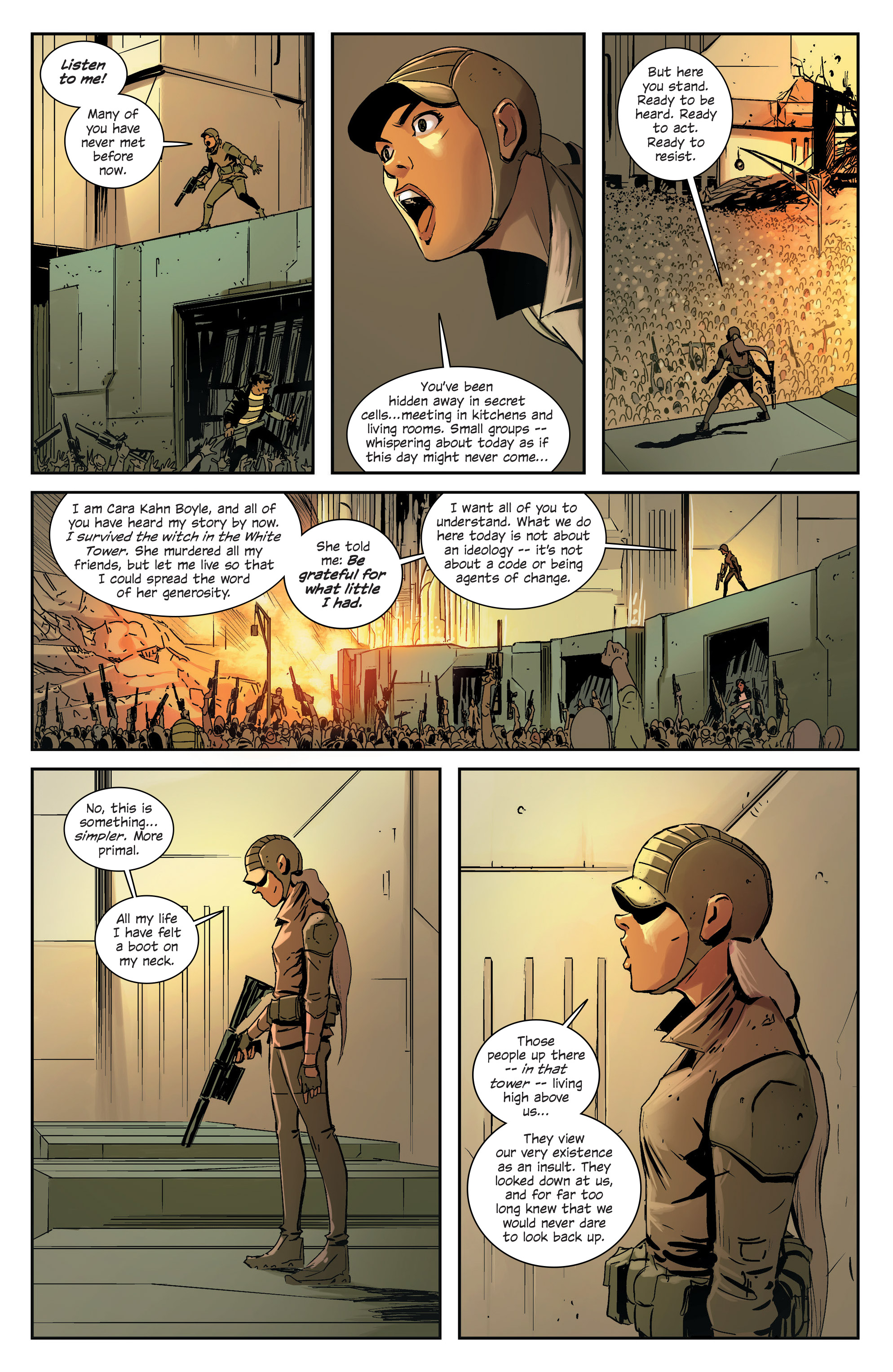 Read online East Of West comic -  Issue #33 - 12