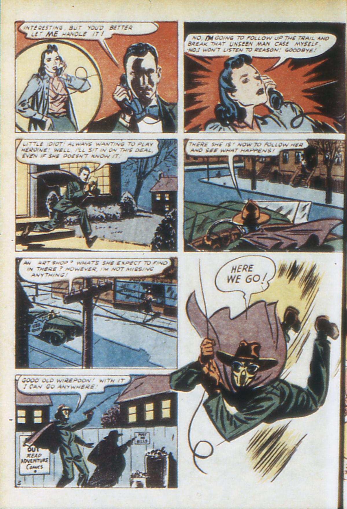 Read online Adventure Comics (1938) comic -  Issue #64 - 61