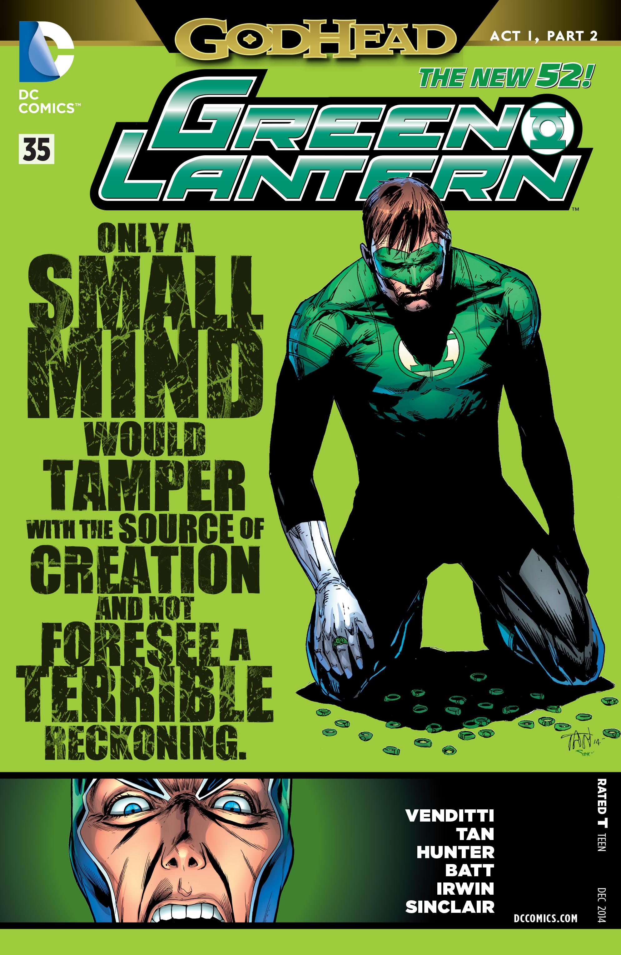 Green Lantern/New Gods: Godhead 2 Page 1