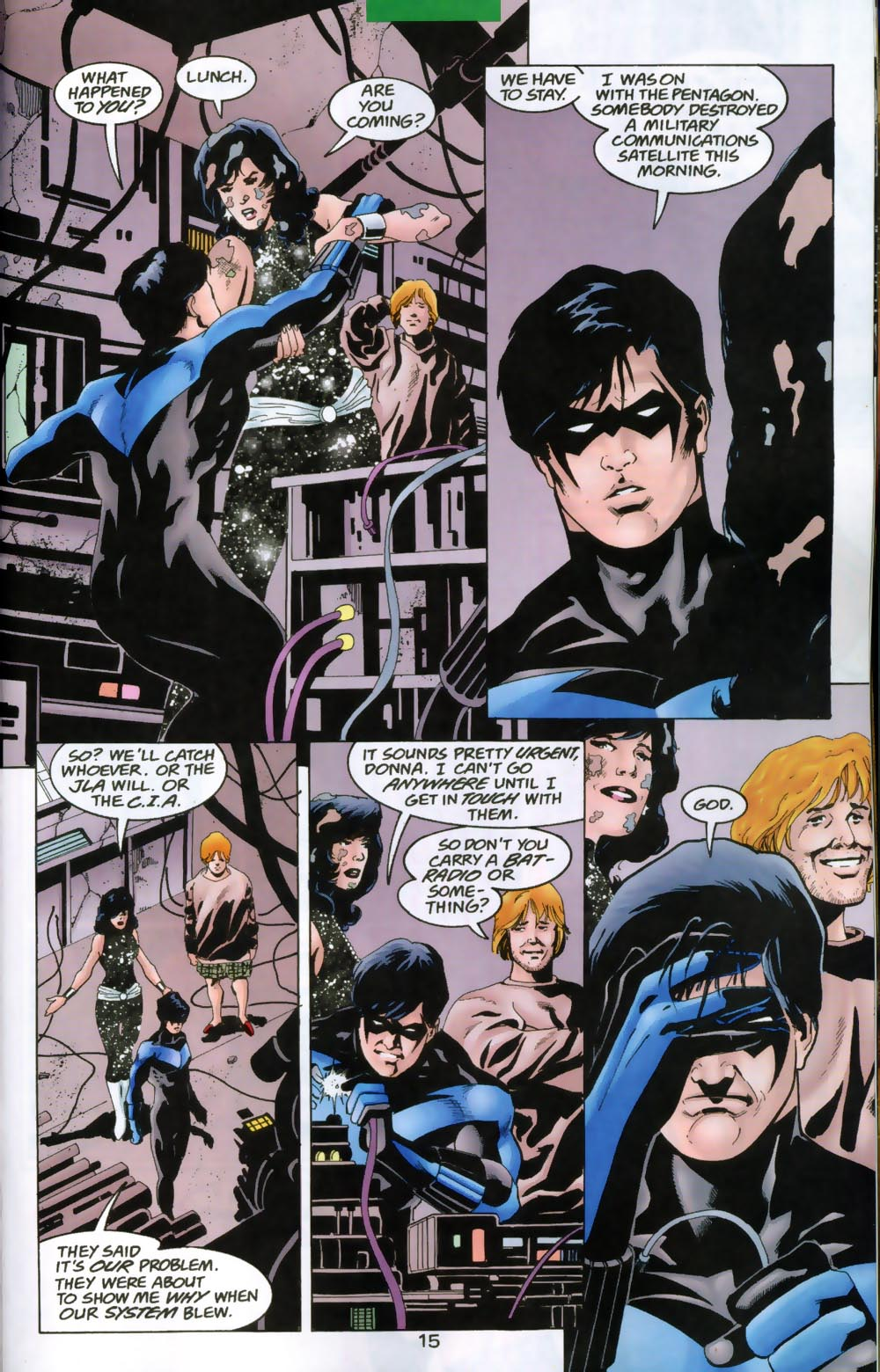 Read online The Titans (1999) comic -  Issue #47 - 16