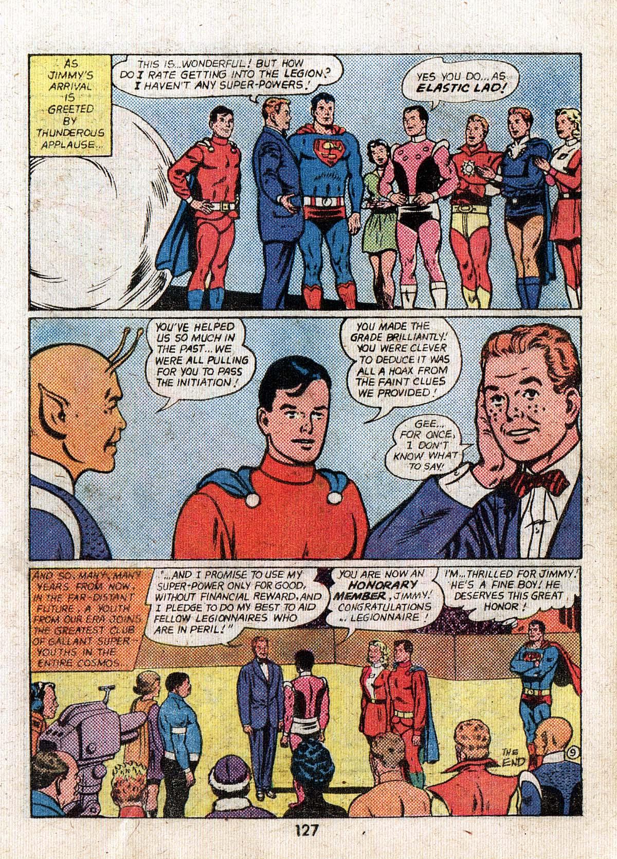 Read online Adventure Comics (1938) comic -  Issue #500 - 127