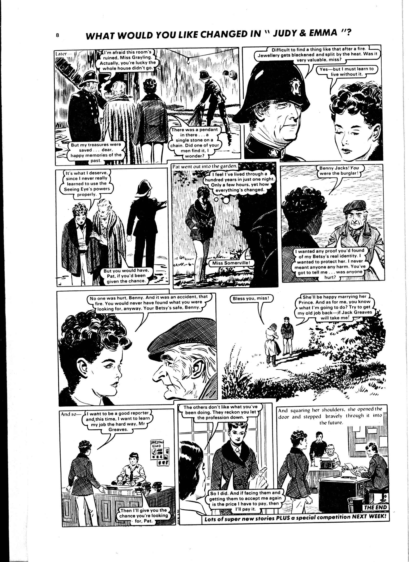Read online Judy comic -  Issue #1049 - 8