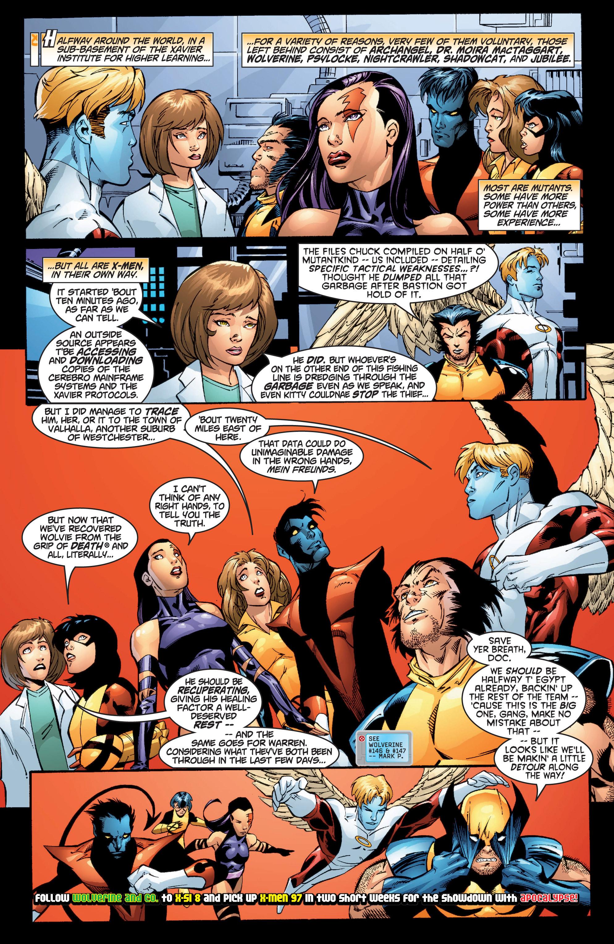Read online Uncanny X-Men (1963) comic -  Issue #377 - 23
