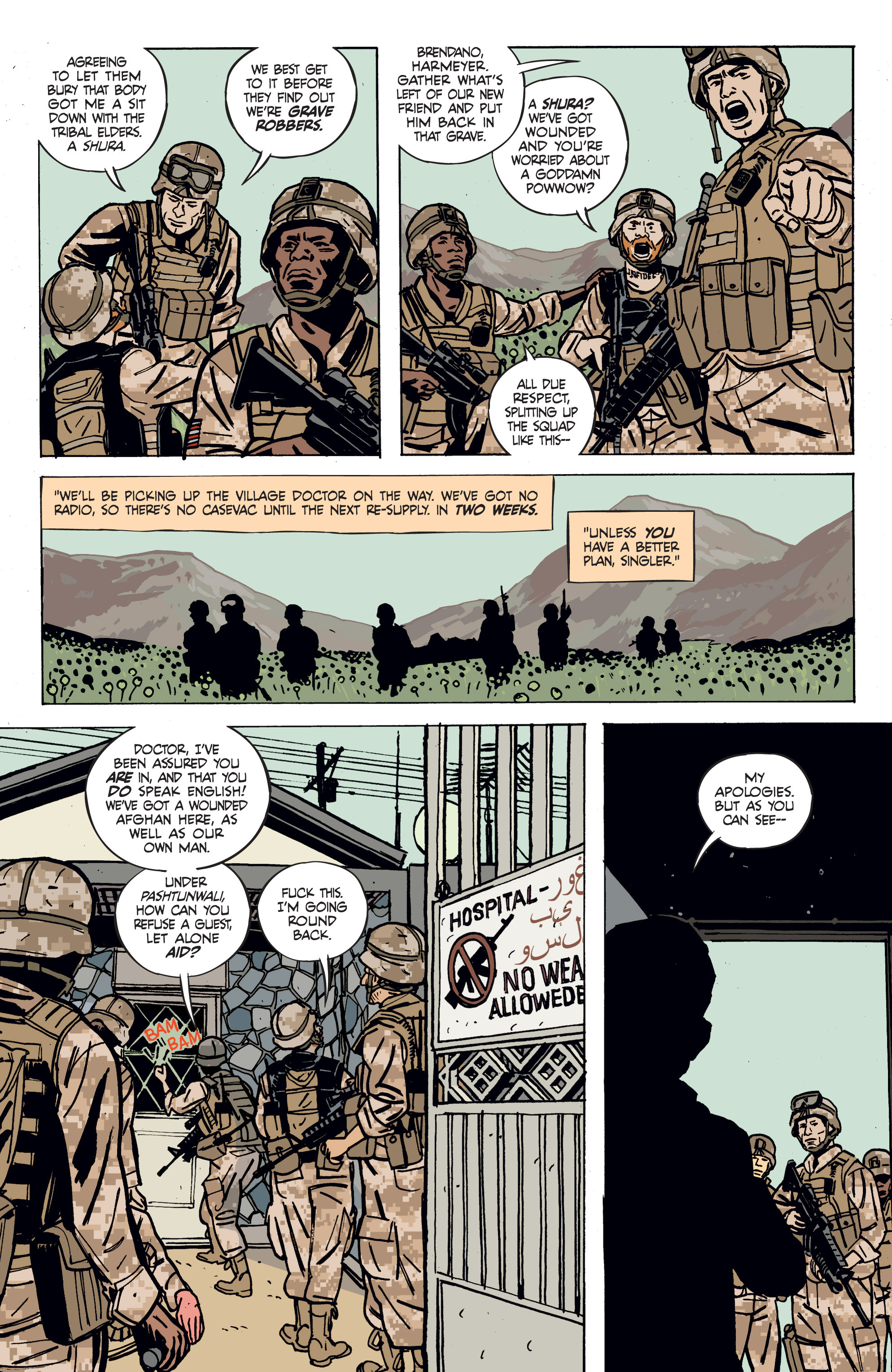 Read online Graveyard of Empires comic -  Issue # TPB - 31