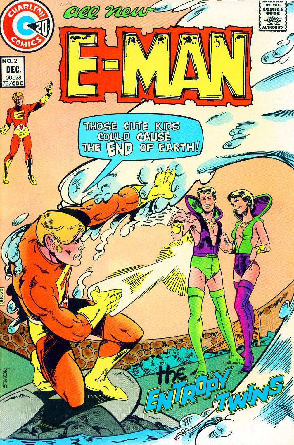 E-Man (1973) issue 2 - Page 1