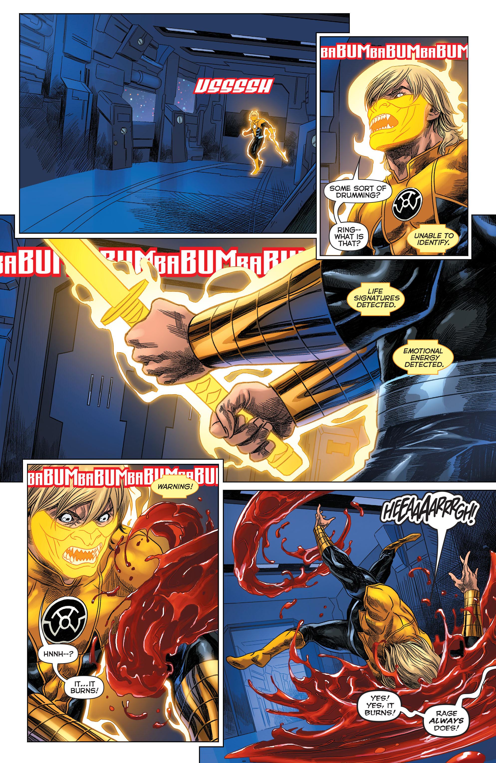 Read online Sinestro comic -  Issue #22 - 21