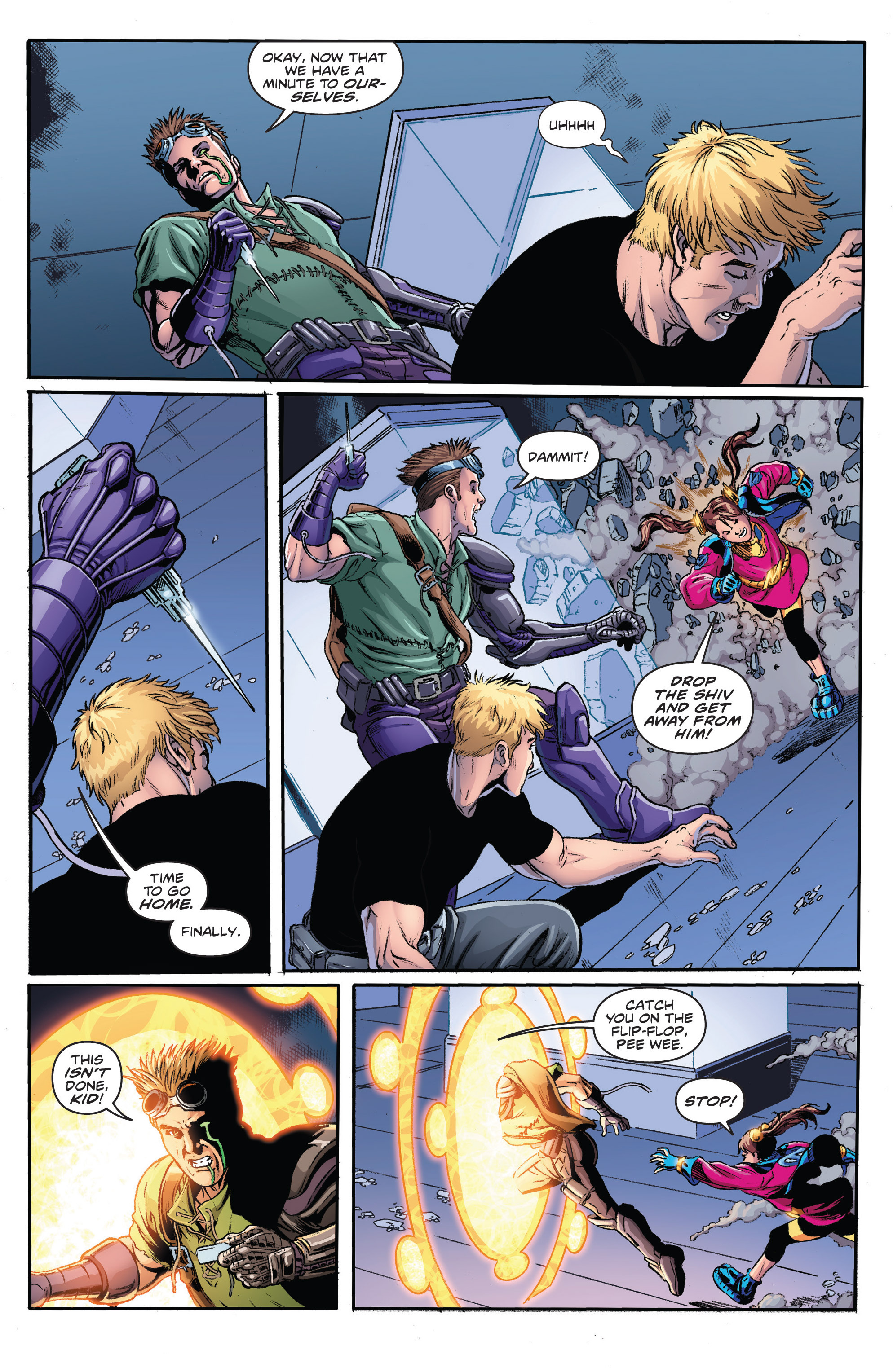 Read online Actionverse comic -  Issue #2 - 17