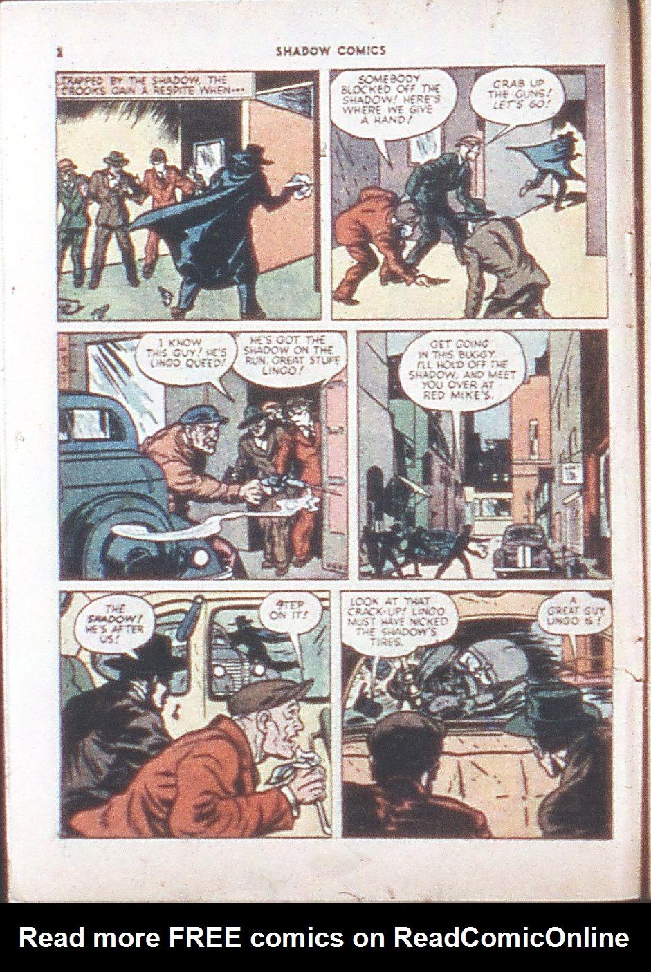 Read online Shadow Comics comic -  Issue #6 - 4