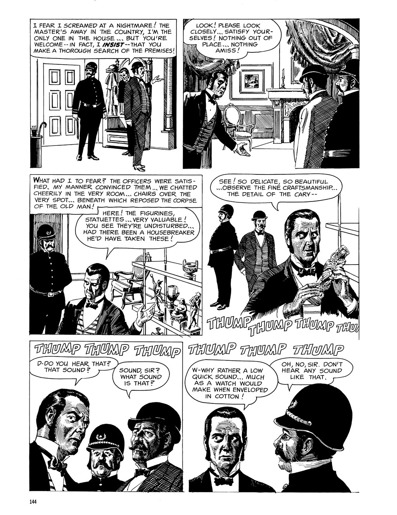 Read online Eerie Archives comic -  Issue # TPB 3 - 145