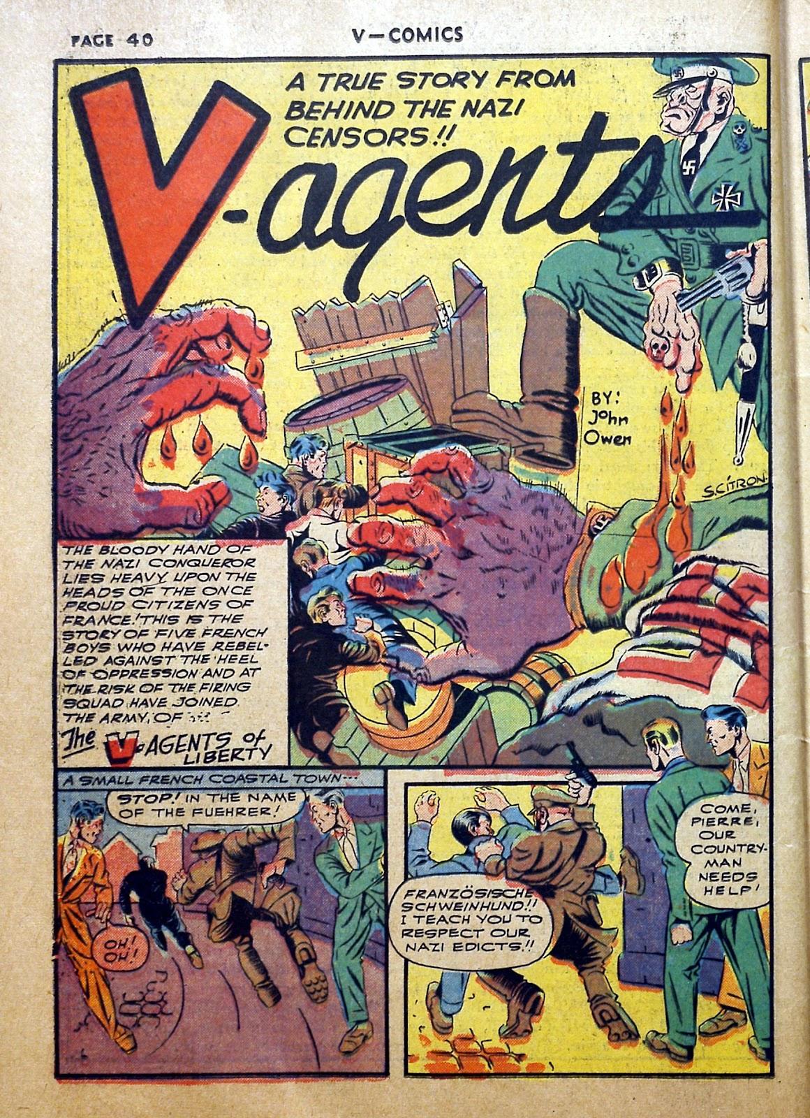 Read online V...- Comics comic -  Issue #2 - 41