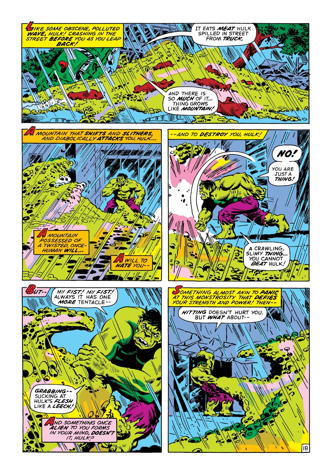 Read online Marvel Masterworks: The Incredible Hulk comic -  Issue # TPB 8 (Part 2) - 70