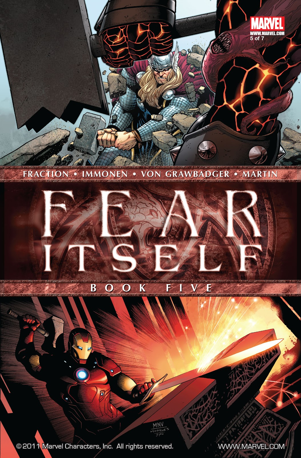 Fear Itself 5 Page 1