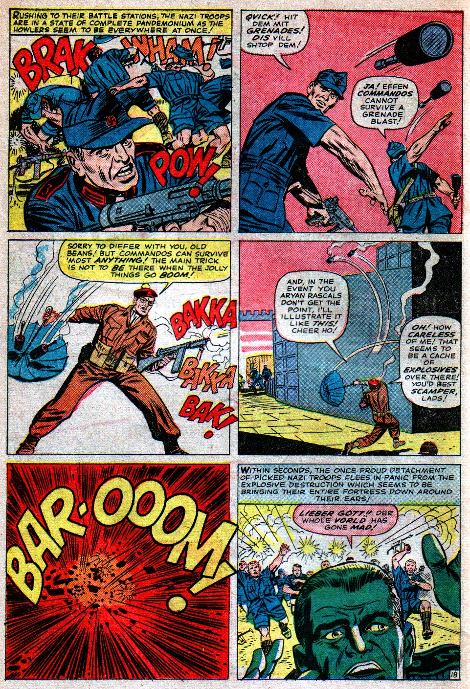 Read online Sgt. Fury comic -  Issue #16 - 26