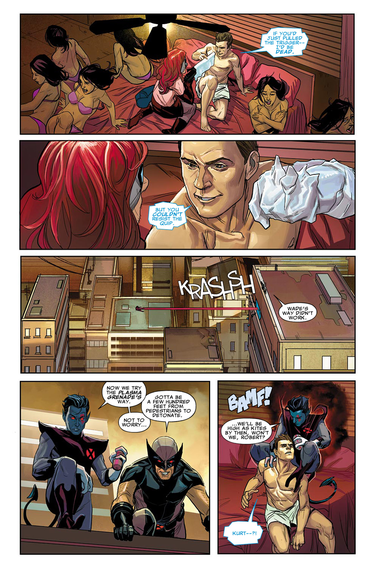 Uncanny X-Force (2010) #24 #26 - English 5