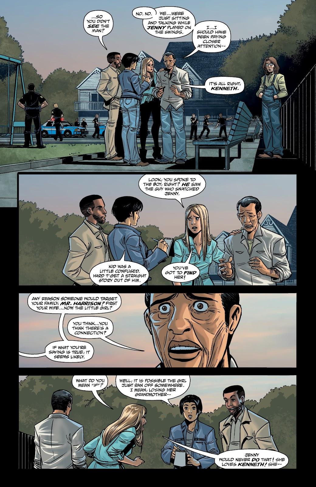 Read online The Girl In The Bay comic -  Issue #4 - 3