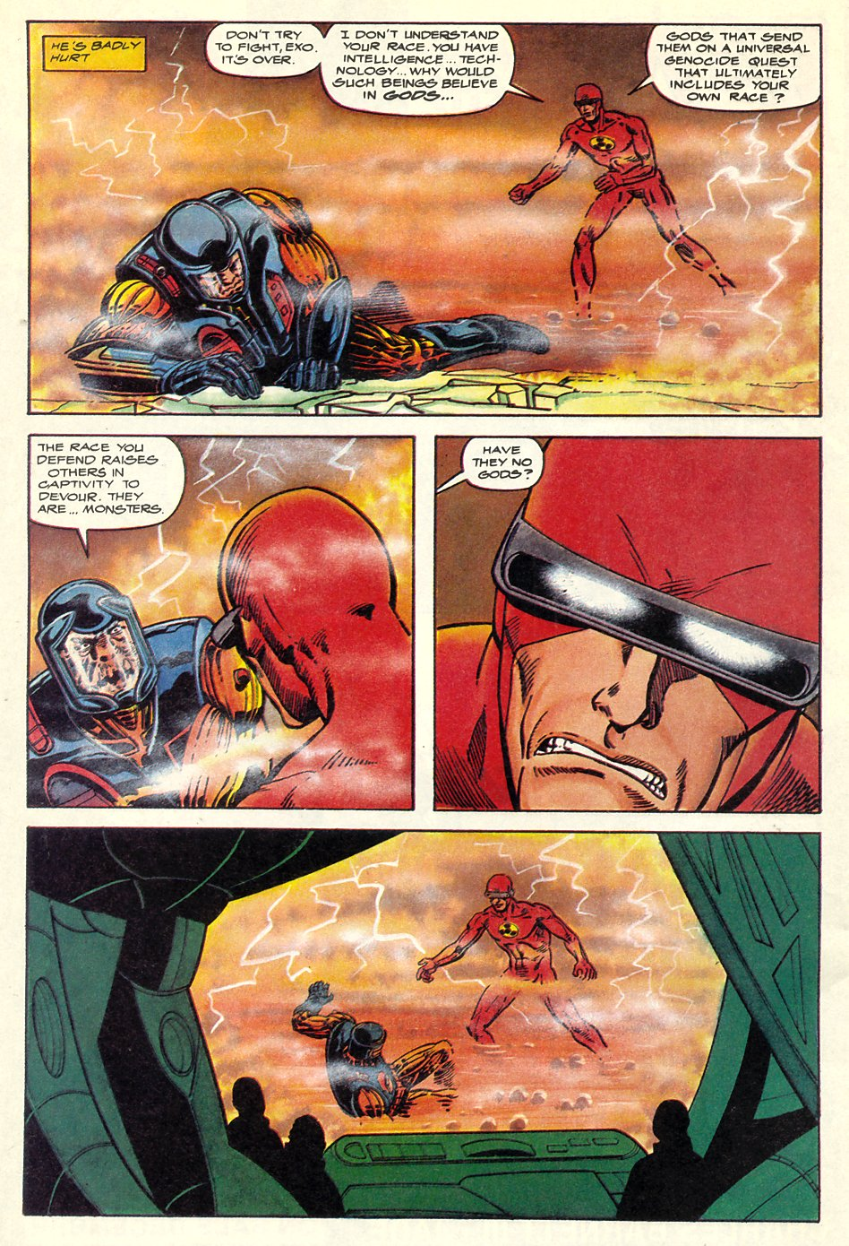 Read online Solar, Man of the Atom comic -  Issue #7 - 35