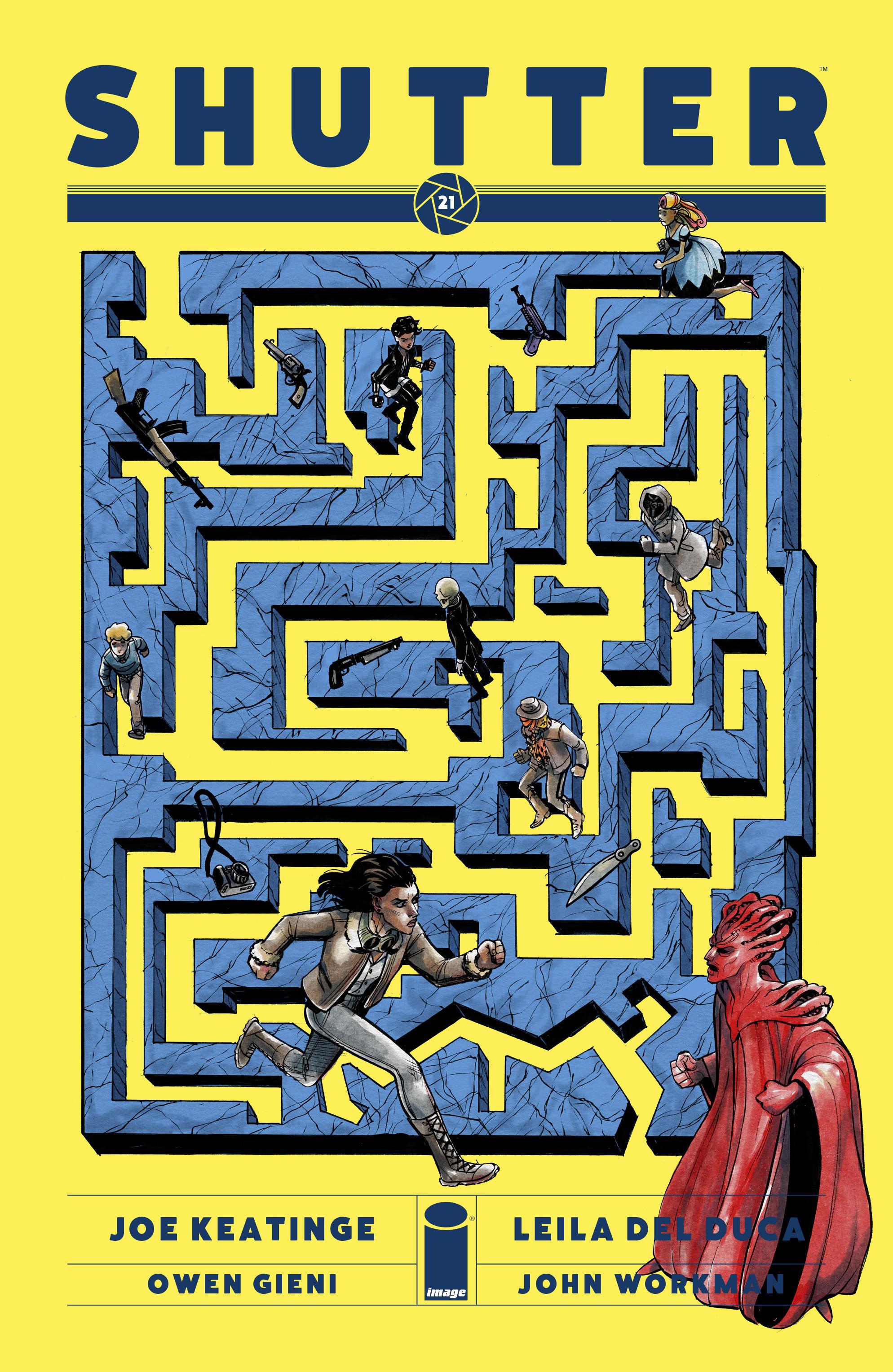 Read online Shutter comic -  Issue #21 - 1