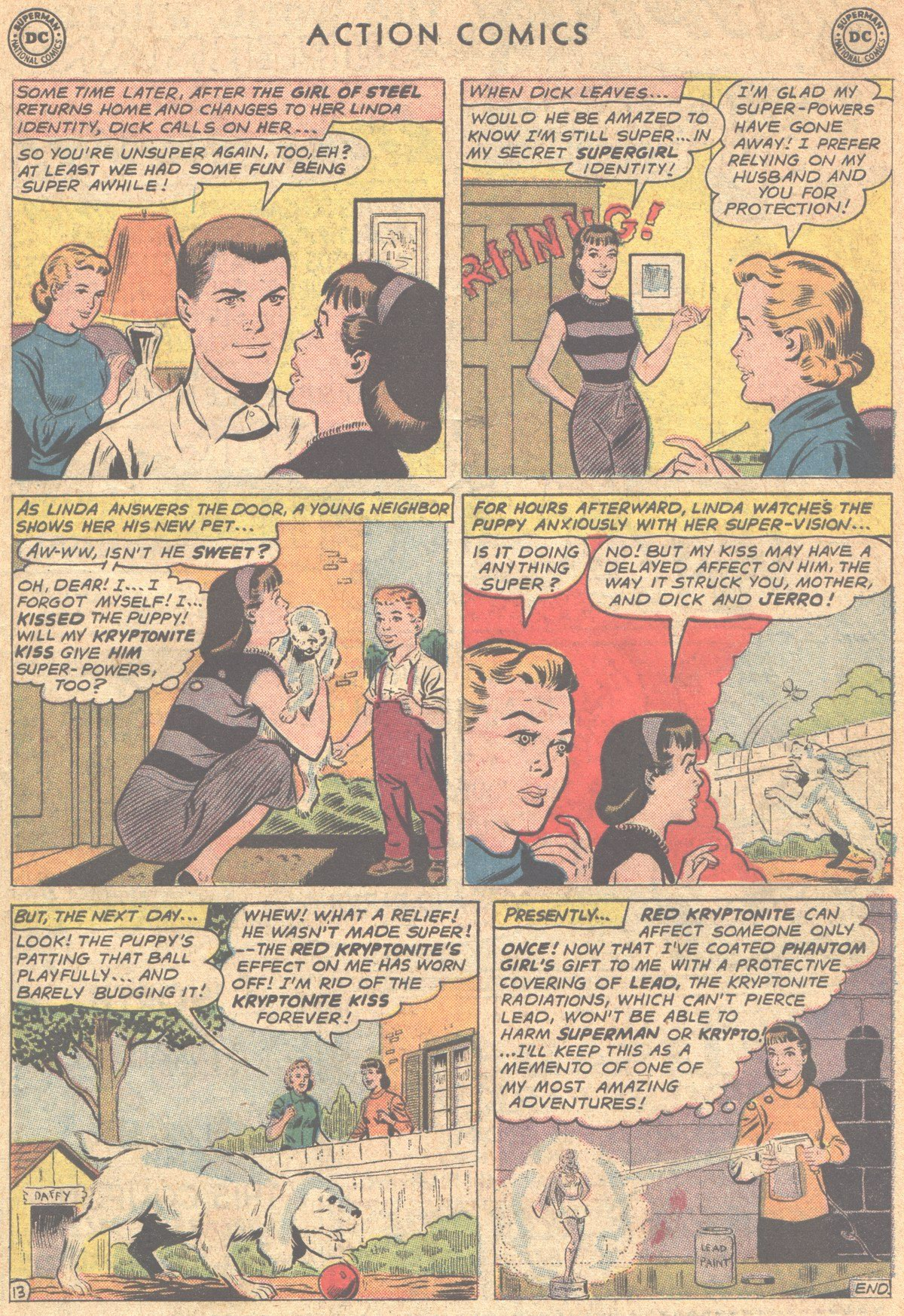 Read online Action Comics (1938) comic -  Issue #290 - 31